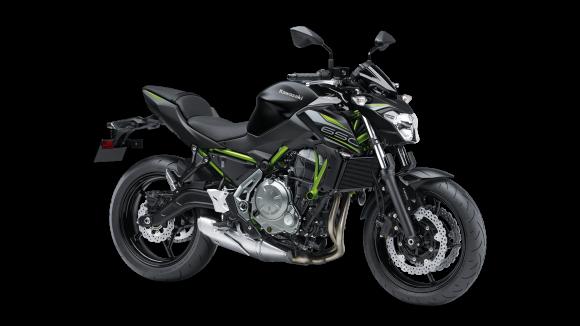 Kawasaki Z650 Black